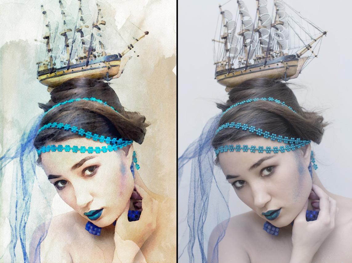برنامج تحويل صورك بطريقة مرسومة بالألوان المائية الكلاسيكية, برنامج تحويل صورتك بطريقة فنية