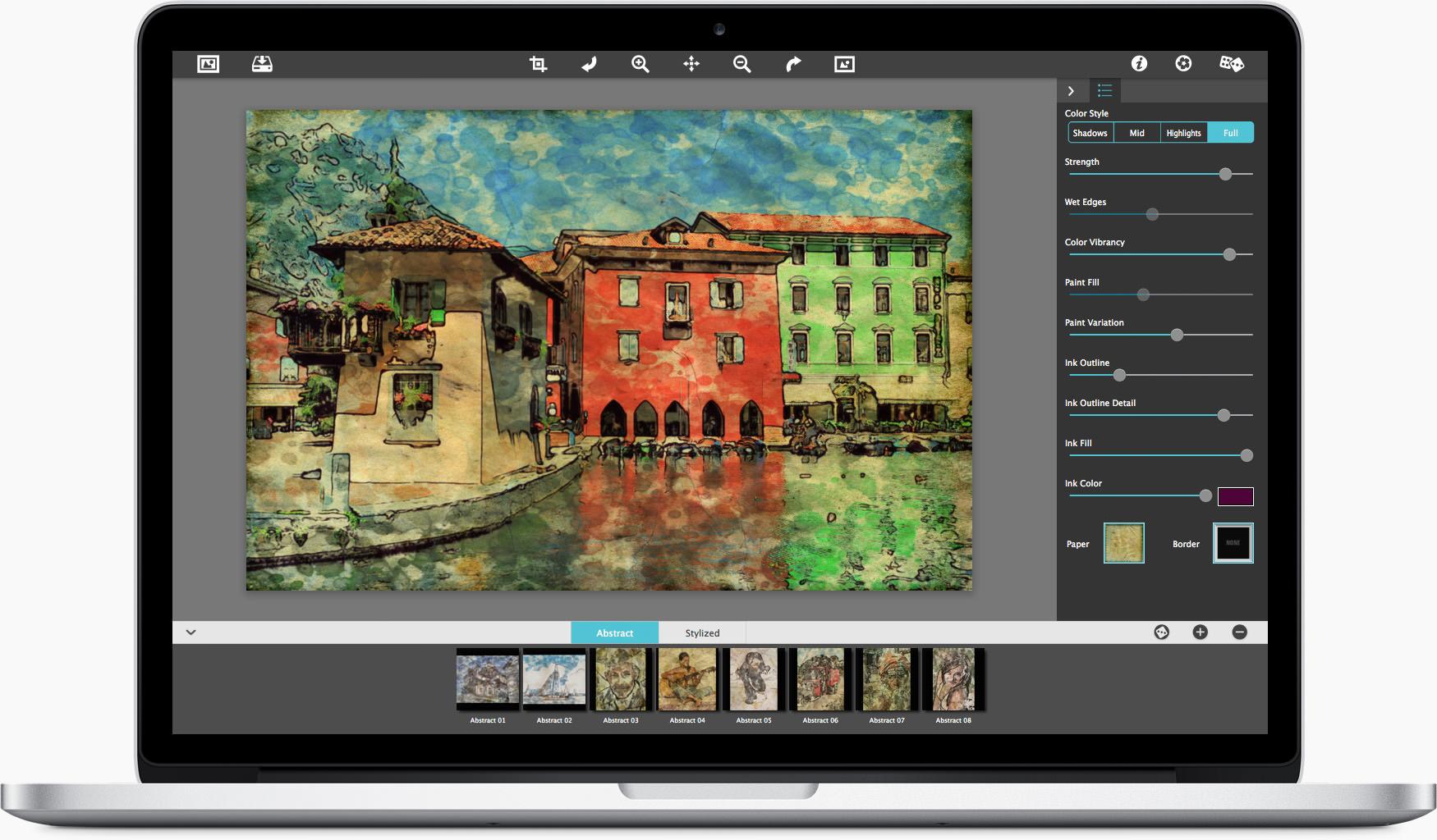 artisa haiku�stylized watercolor painting software