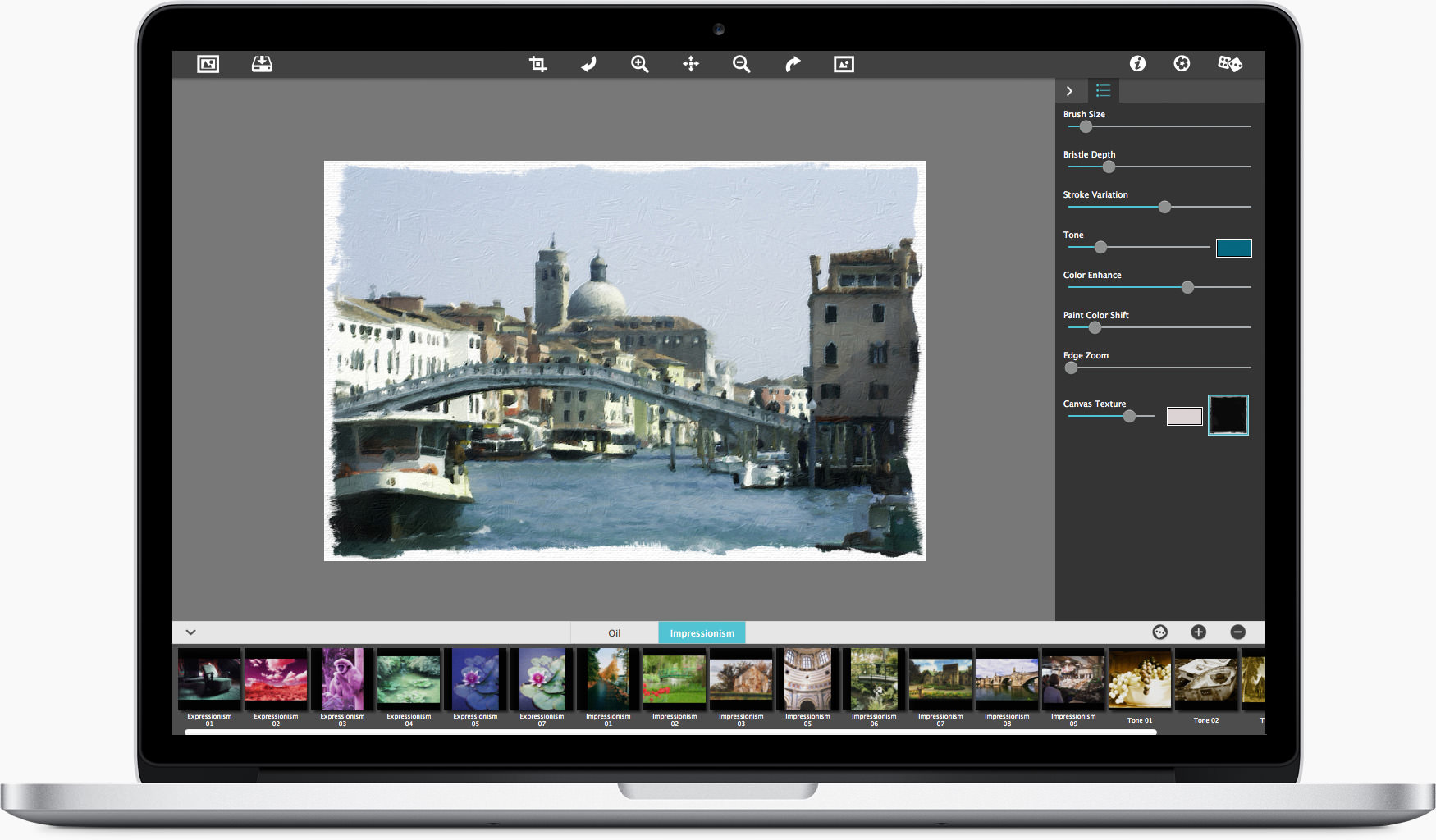 Artista Oil Auto Painting Software