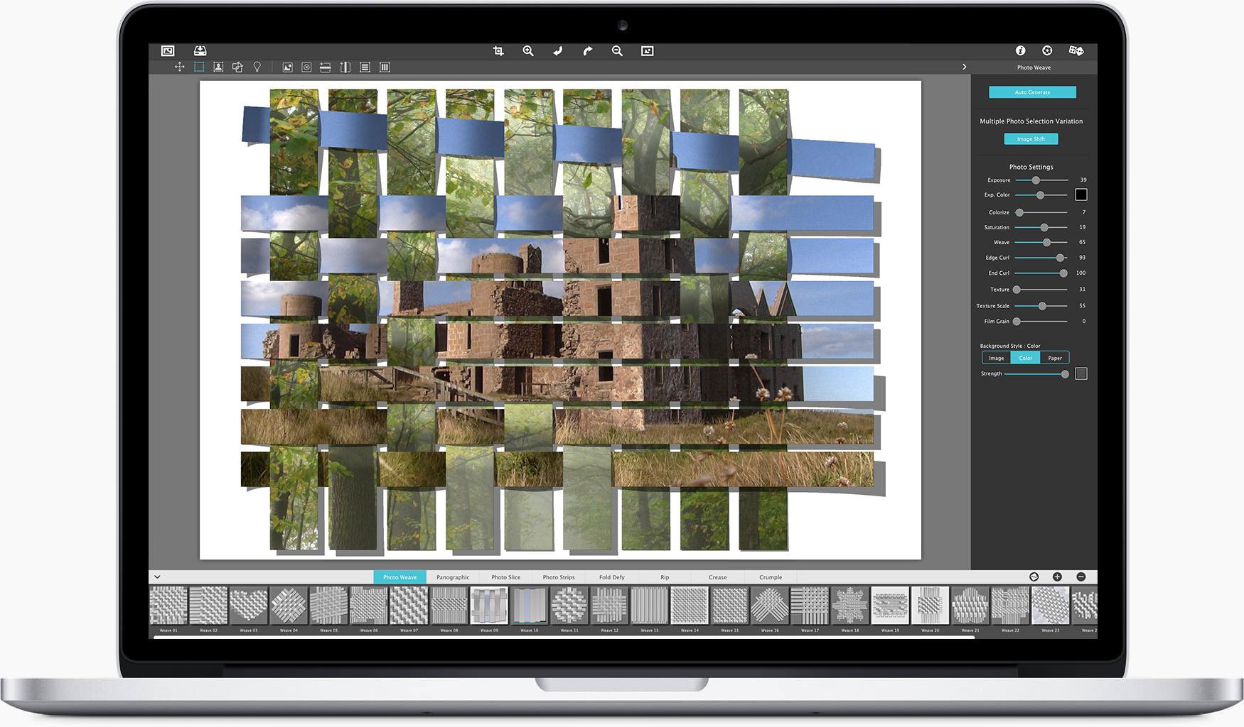 JixiPix Photo Formation Pro 1.0.16 Mac 破解版 3D创意照片效果制作工具