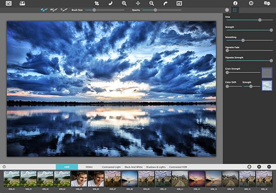 Simply HDR for Mac full screenshot